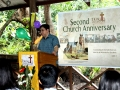 Elder Ronald Fernando conducting Sunday class