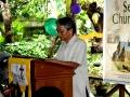 Deacon Lito Libres leading in prayer