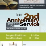 2nd Anniversary Worship Service and Thanksgiving