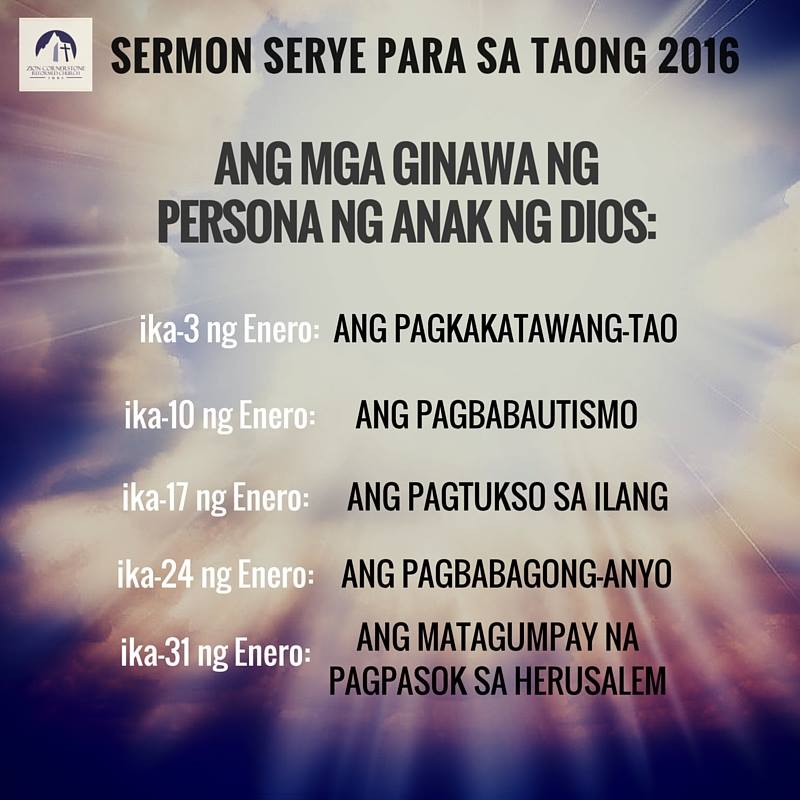 Imus sermon series January 2016