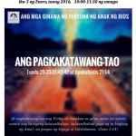 Check Out Our New TAGALOG Worship Bulletin