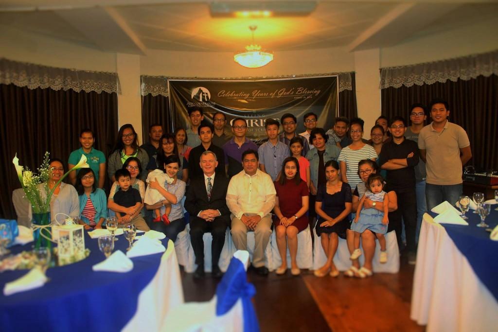 Pasig congregation anniversary